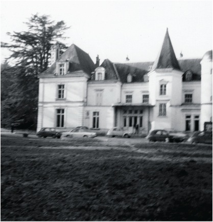 La Borde clinic, near Cour-Cheverny, France, ca. 1965. Photo: Collection of Emmanuelle Guattari.