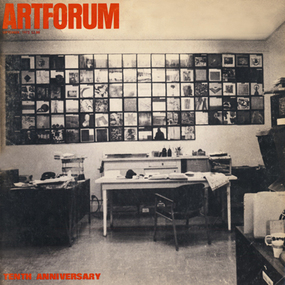 Artforum office.